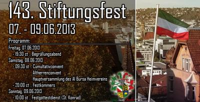 Alania Stiftungsfest20132